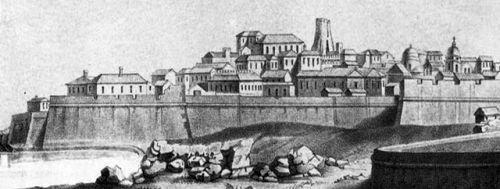 Crotone, centro storico (1860)