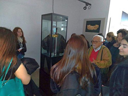 """Passeggiata archeologica con gli studenti del """"Gravina"""""""
