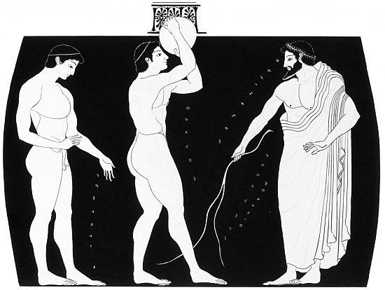Faillo su anfora Euthymides