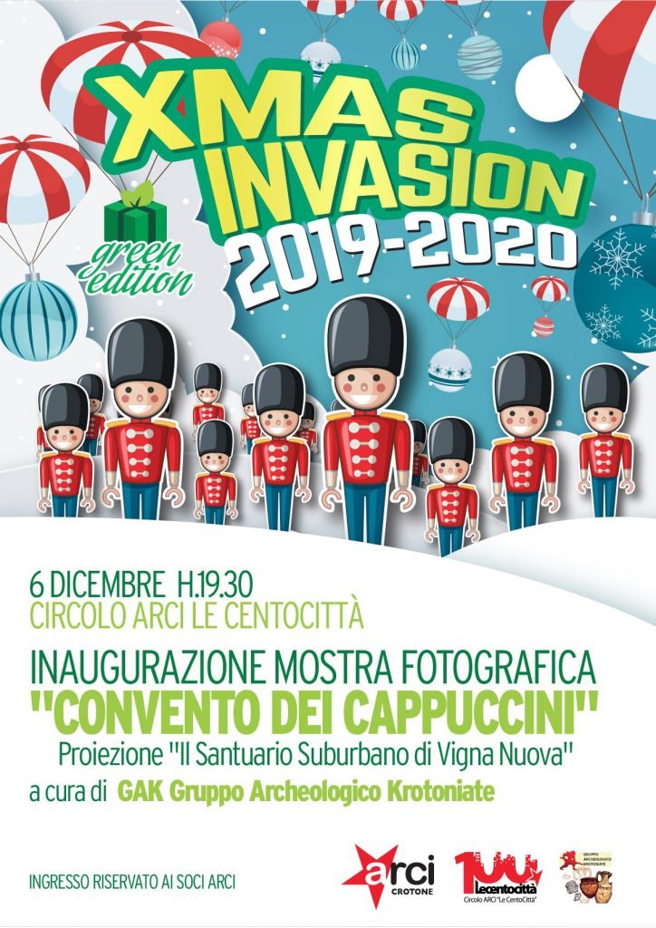 Locandina Mostra Fotografica Convento dei Cappuccini 2019