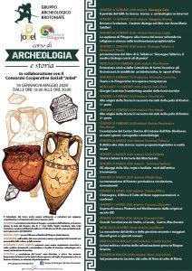 GAK Corso di Archeologia e Storia 2020, Locandina