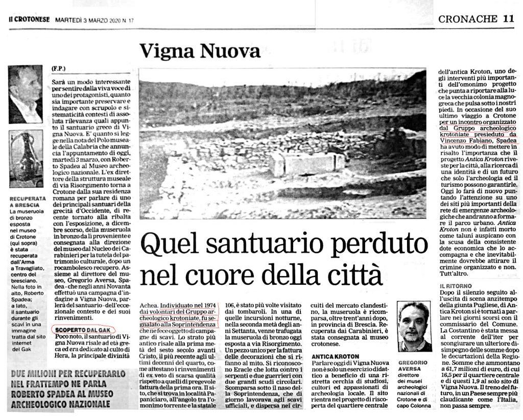 2020-03-03 IlCrotonese_Vigna Nuova